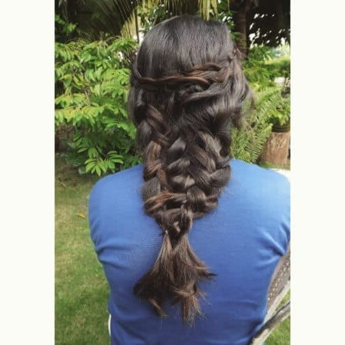 25 Mermaid Hairstyles For Long Hair Braids 2018 [Updated] With Best And Newest Mermaid Crown Braid Hairstyles (View 23 of 25)