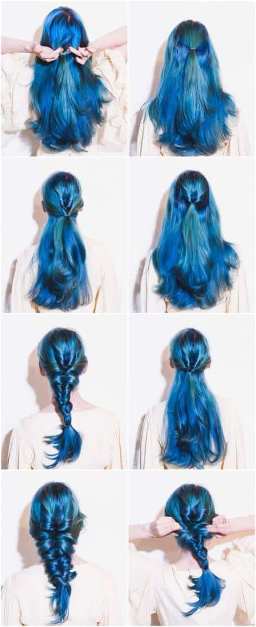 25 Mermaid Hairstyles For Long Hair Braids 2018 [Updated] Within Latest Mermaid'S Hairpiece Braid Hairstyles (View 23 of 25)