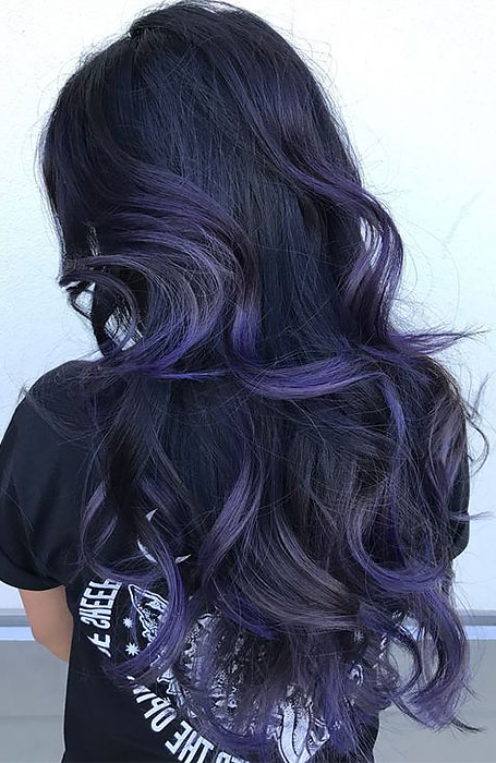 25 Sexy Black Hair With Highlights You Need To Try – The For Most Current Tiny Twist Hairstyles With Caramel Highlights (View 20 of 25)