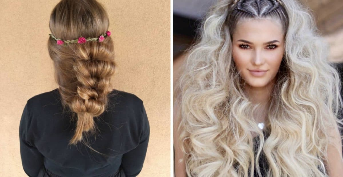 26 Lively Boho Hairstyles Great For Summertime Fun – Wild Inside 2018 Purple Passion Chunky Braided Hairstyles (View 20 of 25)