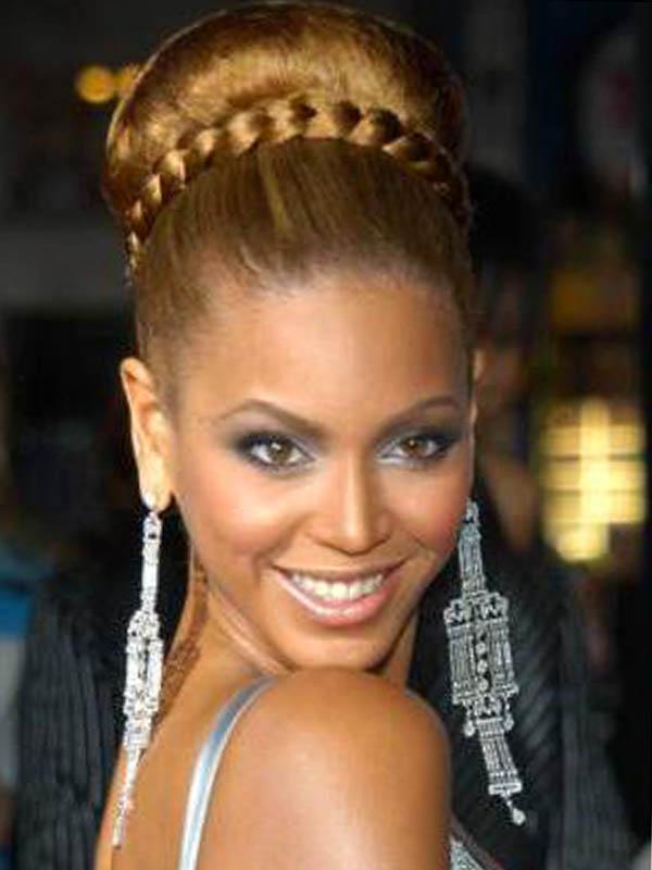 27 Braided Bun Hairstyles 2016 – Elle Hairstyles In 2018 Funky Sock Bun Micro Braid Hairstyles (View 17 of 25)