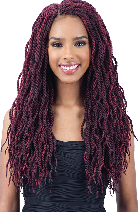 27 Chic Senegalese Twist Hairstyles For Women – The Trend In Newest Two Tone Twists Hairstyles With Beads (View 4 of 25)