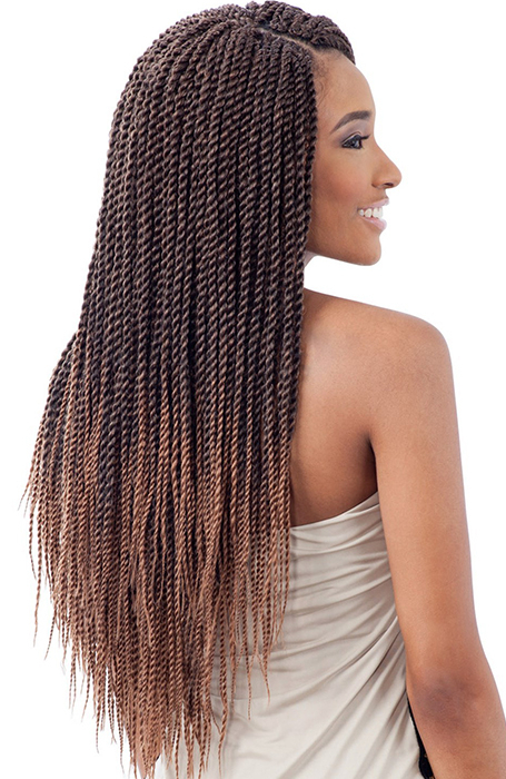 27 Chic Senegalese Twist Hairstyles For Women – The Trend With Most Recent Black And Brown Senegalese Twist Hairstyles (View 18 of 25)