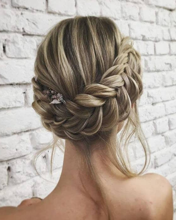 27 Gorgeous Wedding Braid Hairstyles For Your Big Day Within Newest Wedding Braided Hairstyles (View 3 of 25)