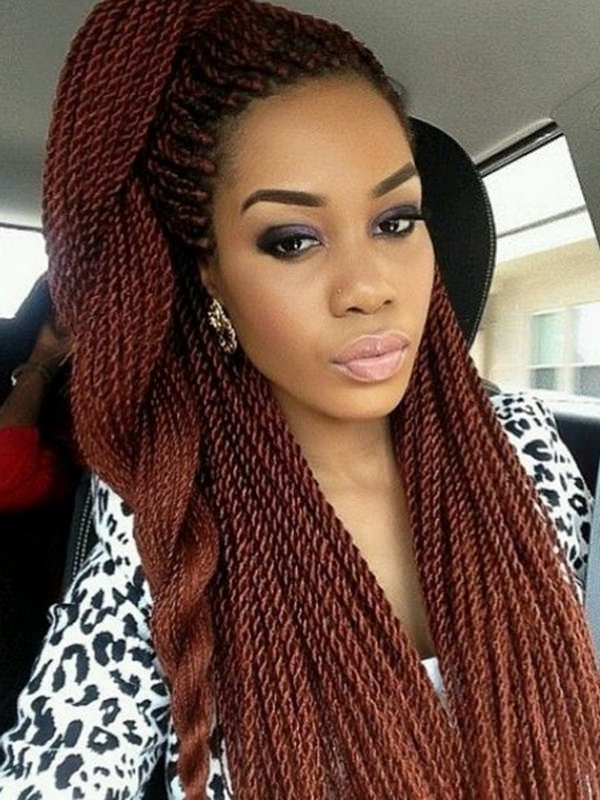 27 Incredible Kinky Twist To Solve Your Hair Dilemma With Regard To Most Current Two Tone Twists Hairstyles With Beads (View 7 of 25)