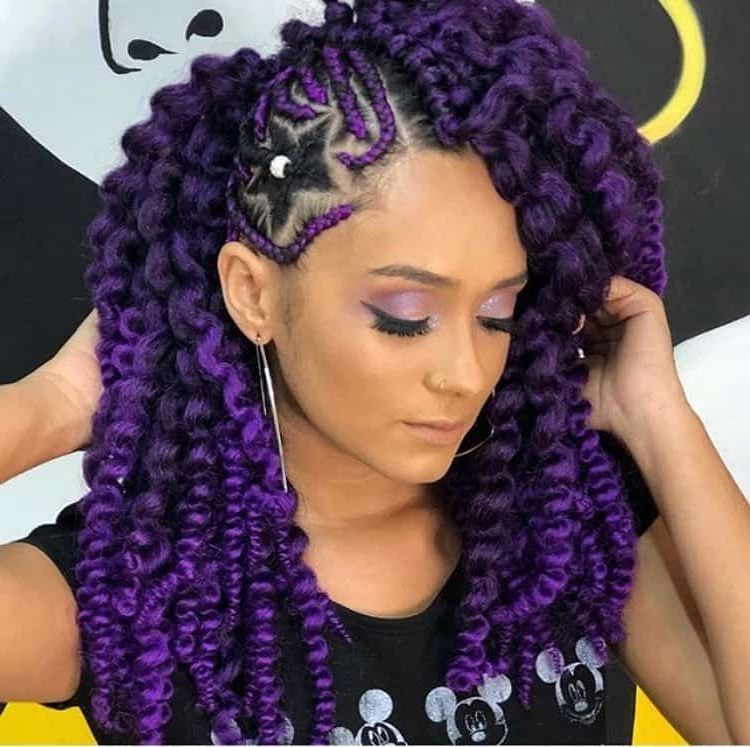 27 Lovely Lemonade Braids To Refresh Your Look – Wild About Throughout 2018 Diamond Goddess Lemonade Braided Hairstyles (View 22 of 25)