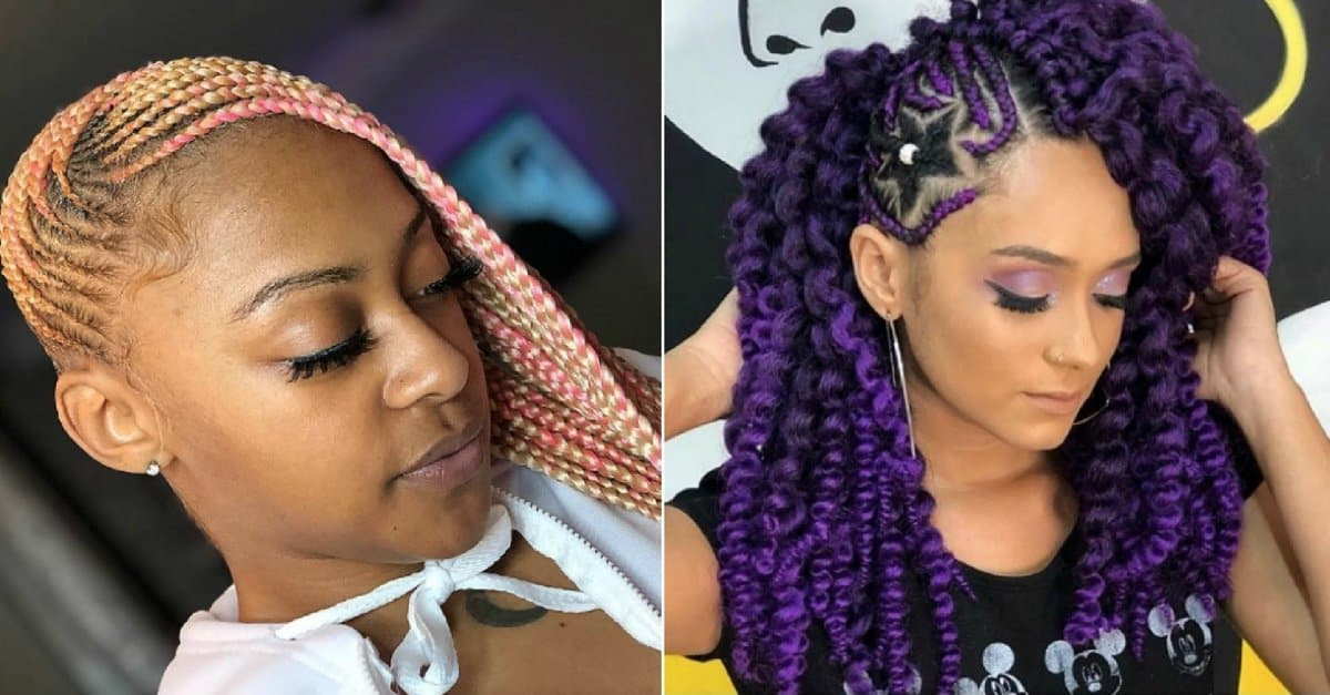 27 Lovely Lemonade Braids To Refresh Your Look – Wild About With Most Current Diamond Goddess Lemonade Braided Hairstyles (View 16 of 25)