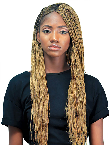 27 Sexy Lemonade Braids You Need To Try – The Trend Spotter In 2018 Centre Parted Long Plaits Braid Hairstyles (View 9 of 25)