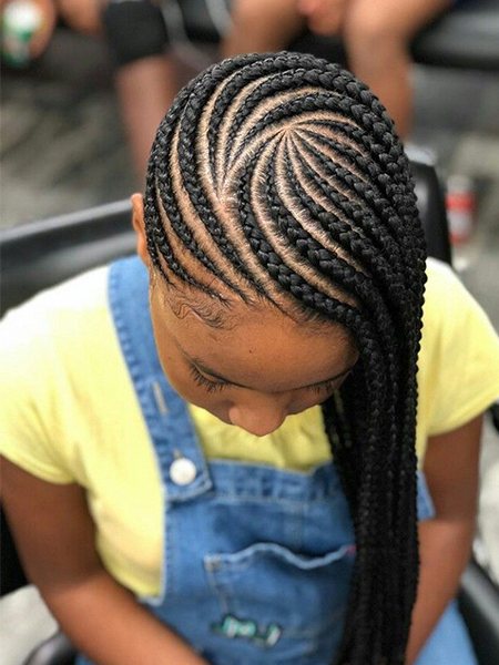 27 Sexy Lemonade Braids You Need To Try – The Trend Spotter Intended For Best And Newest Classic Style Lemonade Braided Hairstyles (View 3 of 25)
