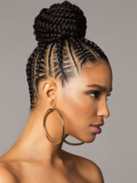 27 Sexy Lemonade Braids You Need To Try – The Trend Spotter Throughout Most Recently High Half Up Bun Invisible Braids (View 14 of 25)