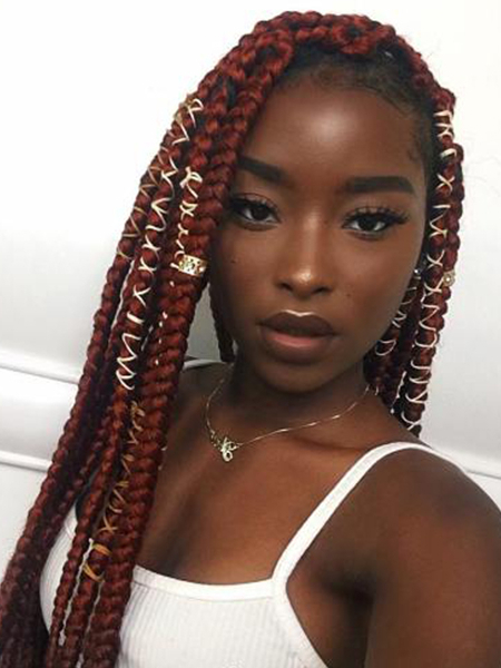 27 Sexy Lemonade Braids You Need To Try – The Trend Spotter With Current Braided Hairstyles With Beads And Wraps (View 5 of 25)