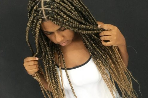 29 New Feed In Braids For 2019 – 2, 3, 4, 5 & 6 Strands Intended For Most Current Diamond Goddess Lemonade Braided Hairstyles (View 15 of 25)