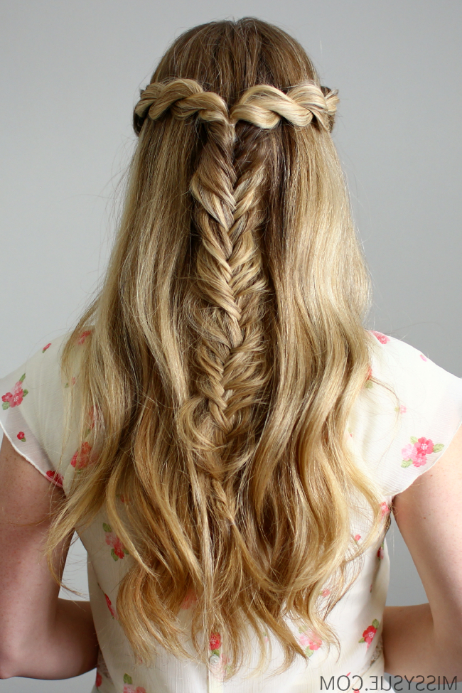 3 Back To School Hairstyles Intended For Recent Twisted Mermaid Braid Hairstyles (View 7 of 25)