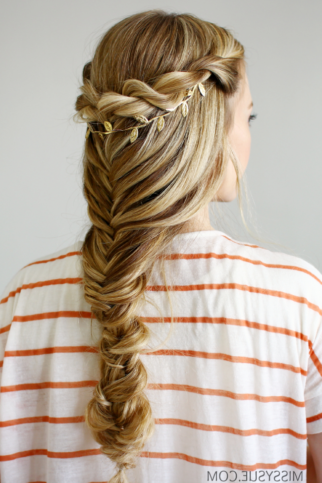 3 Back To School Hairstyles Pertaining To Latest Rope And Fishtail Braid Hairstyles (View 4 of 25)
