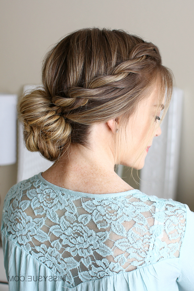 3 Easy Rope Braid Hairstyles | Missy Sue Inside Most Popular Pink Rope Braided Hairstyles (View 7 of 25)