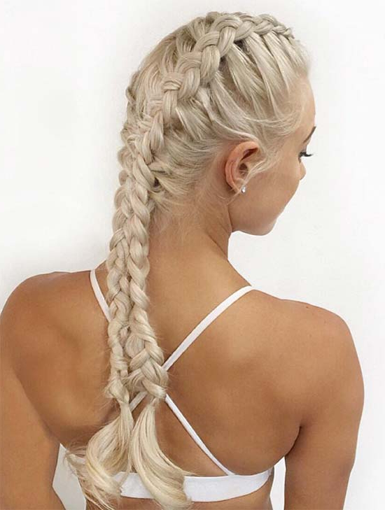 30 Badass Boxer Braids You Need To Try | Fashionisers© Regarding Latest Long Blonde Braid Hairstyles (View 13 of 25)