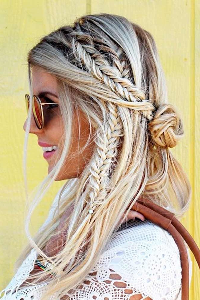 30 Bohemian Hairstyles For Women To Look Different And With Regard To Best And Newest Chic Bohemian Braid Hairstyles (View 5 of 25)