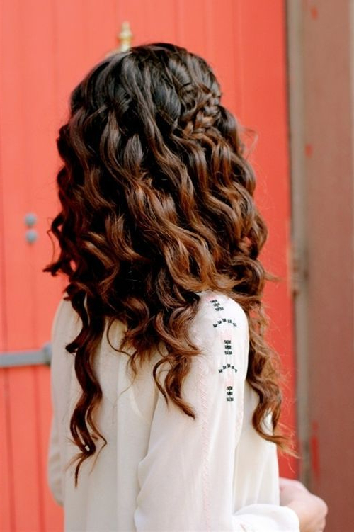 30 Boho Chic Hairstyles For 2019 – Pretty Designs For Recent Chic Bohemian Braid Hairstyles (View 23 of 25)