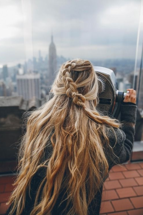 30 Boho Chic Hairstyles You Must Love | Styles Weekly Regarding Most Up To Date Boho Half Braid Hairstyles (View 15 of 25)