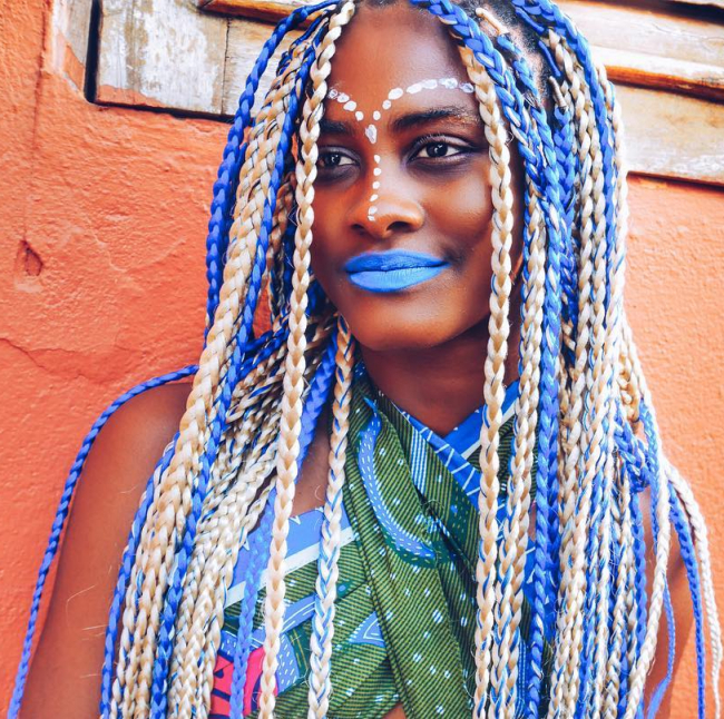 30 Cool Yarn Braids Styles — Protection And Perfection In Best And Newest Blue And White Yarn Hairstyles (View 4 of 25)