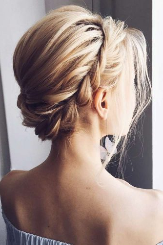 30 Cute Braided Hairstyles For Short Hair | Lovehairstyles Intended For Latest Long Blonde Braid Hairstyles (View 25 of 25)