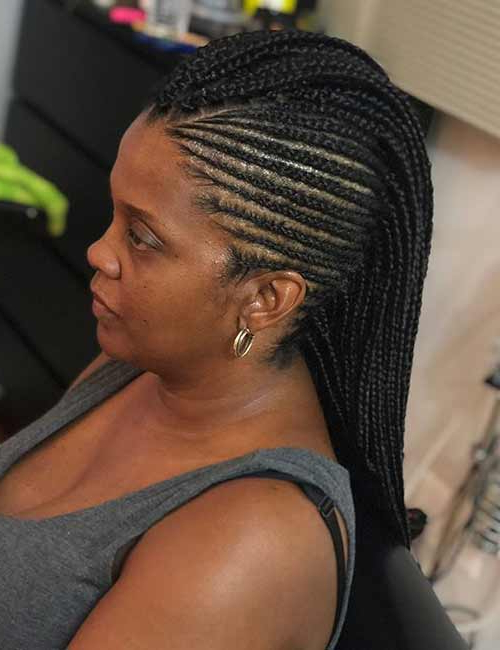 30 Edgy Braided Mohawks You Need To Check Out With Regard To Most Recently Mohawk Braided Hairstyles With Beads (View 10 of 25)