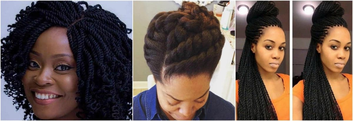 30 Gorgeous Twist Hairstyles For Natural Hair ? Tuko.co (View 15 of 25)