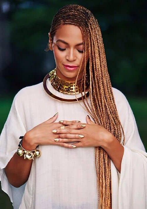 30 Hypnotic Small, Medium & Big Lemonade Braid Styles Within Most Popular Golden Swirl Lemonade Braided Hairstyles (View 11 of 25)