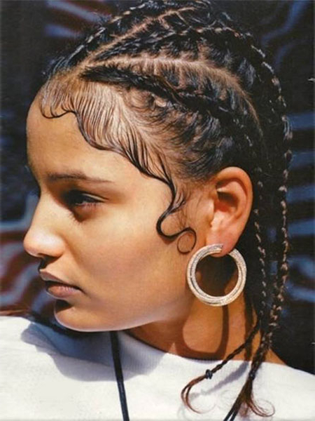 30 Sexy Goddess Braids Hairstyles You Will Love – The Trend Pertaining To Most Recent Tiny Braid Hairstyles In Crop (View 7 of 25)