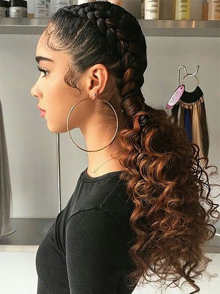 30 Sexy Goddess Braids Hairstyles You Will Love – The Trend Within Newest Goddess Braided Hairstyles With Beads (View 2 of 25)