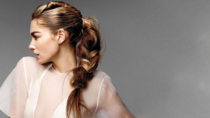 30 Stunning Prom Hairstyles For 2019 – The Trend Spotter Within 2018 Stylishly Swept Back Braid Hairstyles (View 24 of 25)