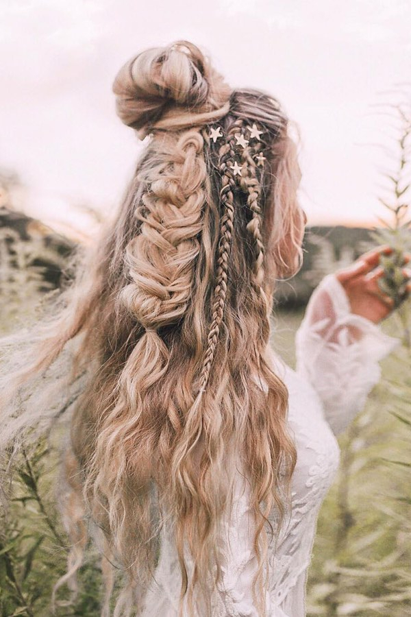 32 Unique Braided Hairstyles For Women To Make You Stand Out – For Most Recently Elegant Blonde Mermaid Braid Hairstyles (View 24 of 25)