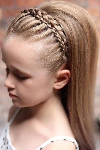 33 Cute Flower Girl Hairstyles (2017 Update) | Wedding Forward With Regard To 2018 Traditional Halo Braided Hairstyles With Flowers (View 24 of 25)