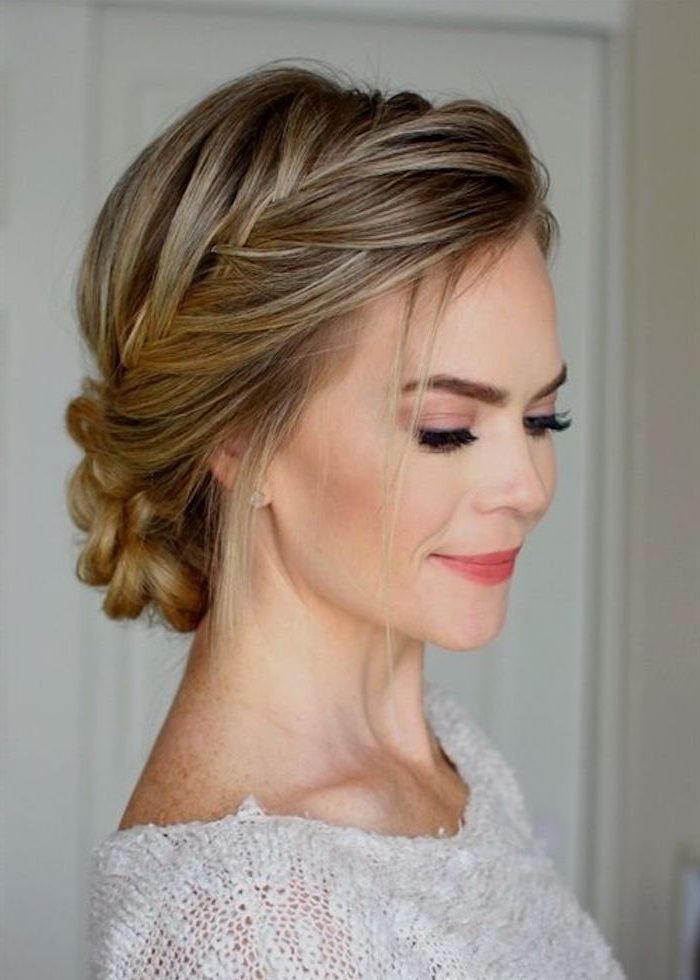 34 Beautiful Braided Wedding Hairstyles For The Modern Bride For Current Wedding Braided Hairstyles (View 22 of 25)