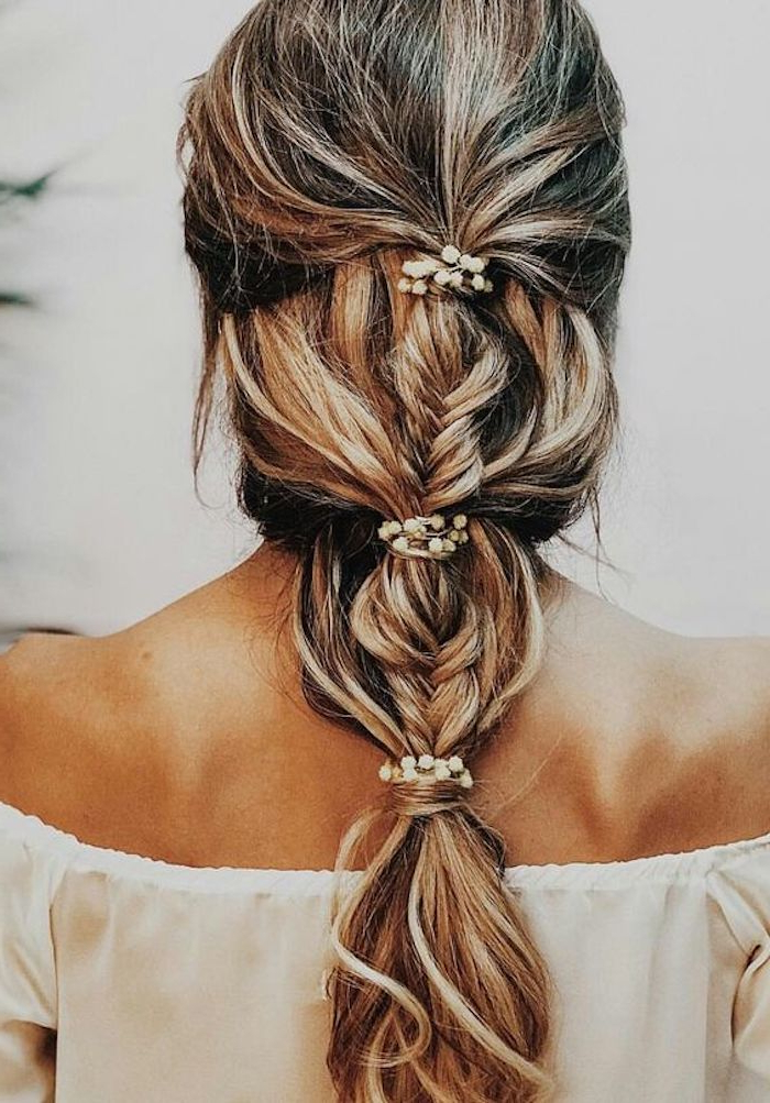 34 Beautiful Braided Wedding Hairstyles For The Modern Bride Within Current Wedding Braided Hairstyles (View 12 of 25)