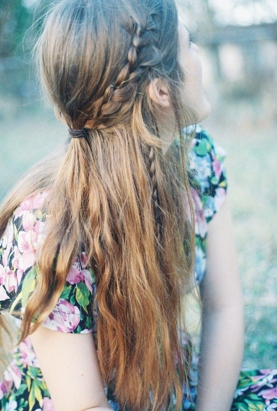 34 Boho Hairstyles Ideas | Styles Weekly Within Current Chic Bohemian Braid Hairstyles (View 19 of 25)