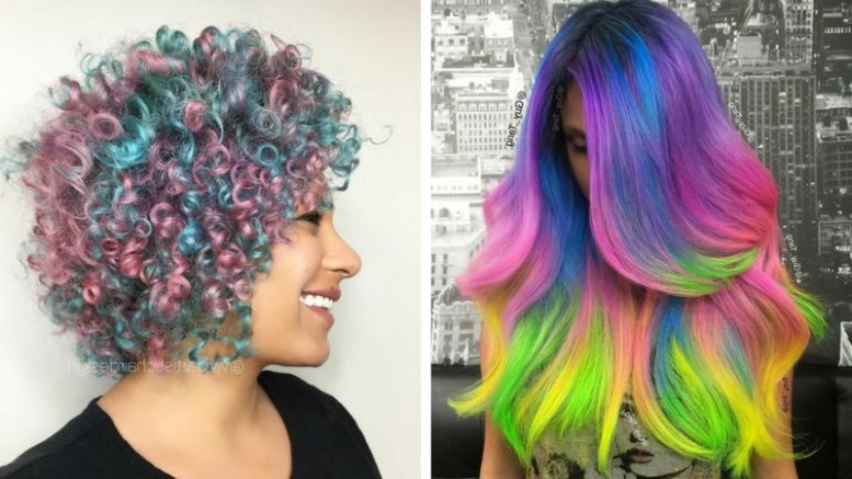 35 Cotton Candy Hair Styles That Look So Good You'll Want To Pertaining To Latest Cotton Candy Colors Blend Mermaid Braid Hairstyles (View 8 of 25)