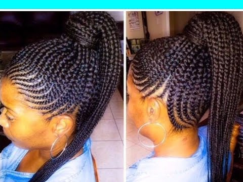 35 Lovely Braided Updo With Kanekalon Hair Regarding Most Up To Date Lovely Black Braided Updo Hairstyles (View 5 of 25)