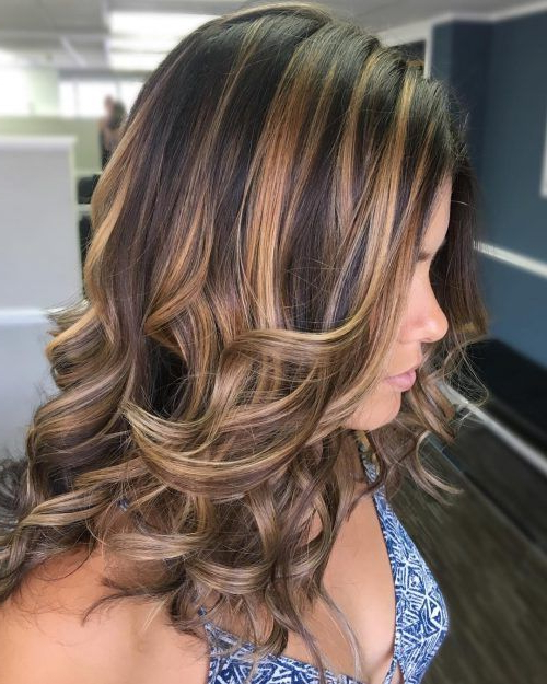 Featured Photo of Tiny Twist Hairstyles With Caramel Highlights
