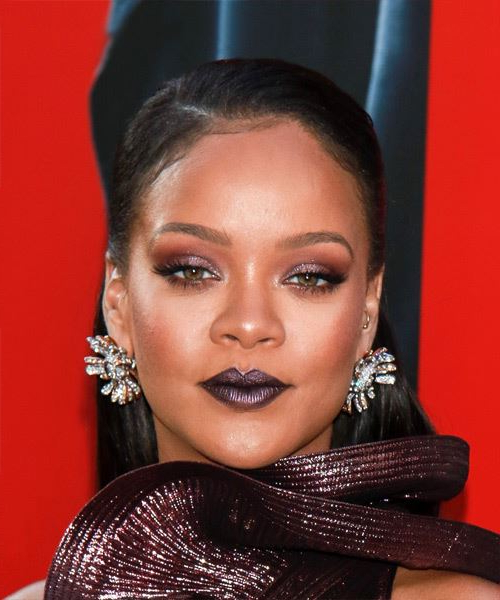 35 Rihanna Hairstyles, Hair Cuts And Colors Inside Most Popular Gold Toned Skull Cap Braided Hairstyles (View 21 of 25)