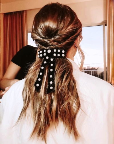 37 Cool Ponytail Hairstyles To Try In 2019 | Glamour With Regard To 2018 Wrapped Ponytail Braid Hairstyles (View 19 of 25)