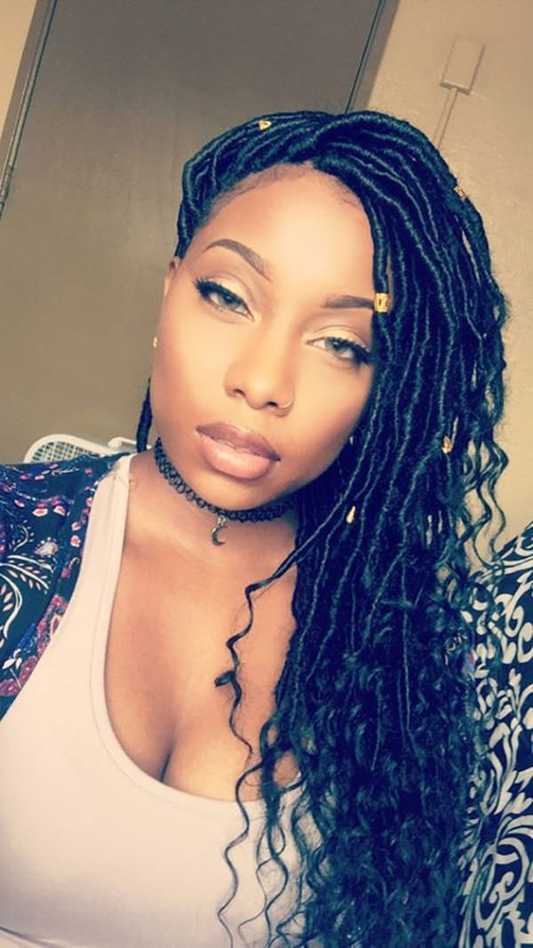 38 Ingenious Faux Locs Hairstyle That Will Make Heads Turn With Current Blonde Faux Locs Hairstyles With Braided Crown (View 14 of 25)