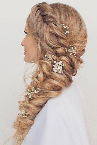 39 Braided Wedding Hair Ideas You Will Love | Wedding Forward In Current Mermaid Crown Braid Hairstyles (View 20 of 25)