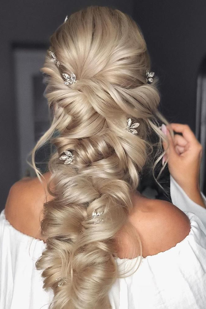 39 Braided Wedding Hair Ideas You Will Love | Wedding In Most Current Elegant Blonde Mermaid Braid Hairstyles (View 2 of 25)