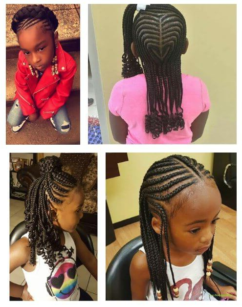 39+ Latest Box Braids Ponytails For Little Girls To Make Throughout 2018 Box Braid Bead Ponytail Hairstyles (View 22 of 25)