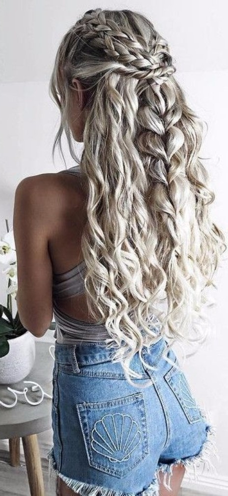 39 Of The Top Braid Hairstyles – Hairstyle On Point With Regard To Recent Messy Mermaid Braid Hairstyles (View 10 of 25)