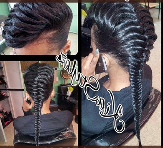 3D Fishtail Braid   Hair   Natural Hair Styles, Braided Inside Most Recently 3D Mermaid Plait Braid Hairstyles (View 5 of 25)