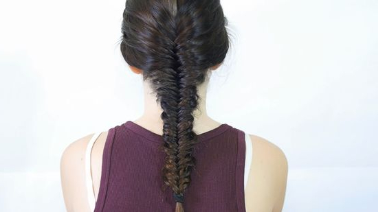 4 Ways To Make A Fishtail Braid - Wikihow inside Recent Rope And Fishtail Braid Hairstyles