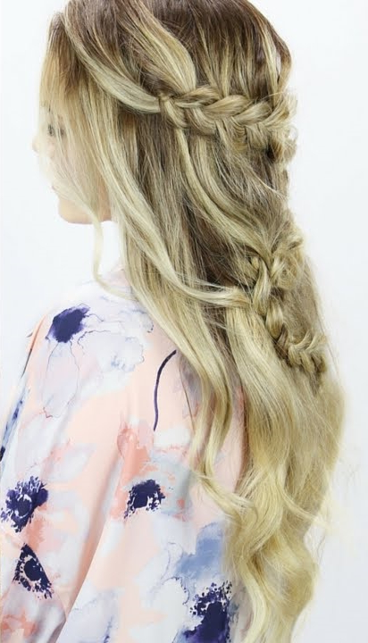 40 Braid Styles For Women | Hair Braiding Styles | Explore Intended For Latest Back And Forth Skinny Braided Hairstyles (View 19 of 25)