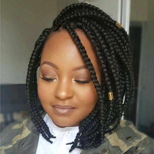 40 Braided Bob Hairstyle Ideas (Trending In September 2019) For Current Bob Braid Hairstyles With Bangs (View 23 of 25)